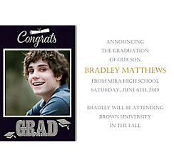 Custom Graduating Class Photo Announcements