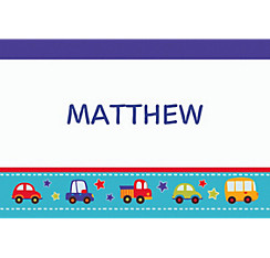 All Aboard Birthday Custom Thank You Note