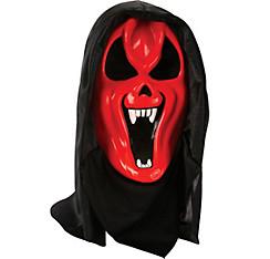 Hooded Horror Devil Mask