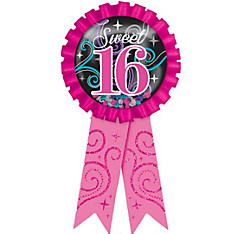Celebrate Sweet 16 Award Ribbon