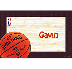NBA Spalding Custom Thank You Note