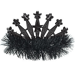 Black Star Tinsel Tiara