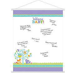 Woodland Baby Shower Sign-In Sheet
