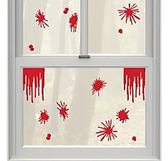 Blood Splatter Gel Cling Decals 15ct - Asylum