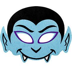 Child Blue Dracula Eye Mask