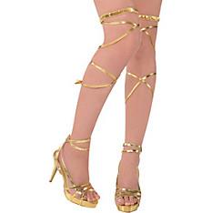 Gold Goddess Leg Wraps