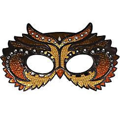 Sparkle Owl Masquerade Mask