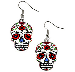 Sugar Skull Earrings - Day of the Dead