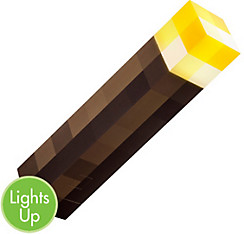 Light-Up Minecraft Torch