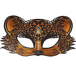 Sparkle Leopard Masquerade Mask