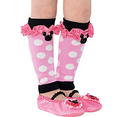 Child Minnie Mouse Leg Warmers