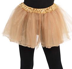 Child Gold Tutu