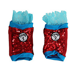 Child Sparkle Thing 1 & Thing 2 Arm Warmers - The Cat in the Hat