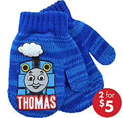 Child Thomas the Tank Engine Mittens