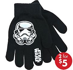 Child Stormtrooper Face Gloves - Star Wars