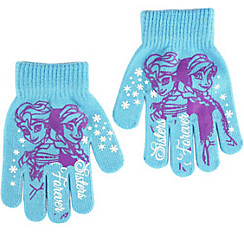 Child Anna & Elsa Gloves - Frozen
