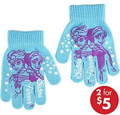 Child Anna & Elsa Gloves - Frozen