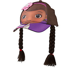 Child Doc McStuffins Baseball Hat with Braids