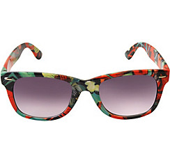 Tropical Floral Sunglasses
