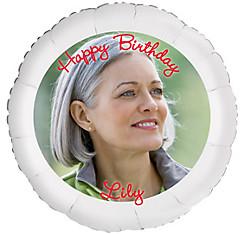 Custom Birthday Photo Balloon