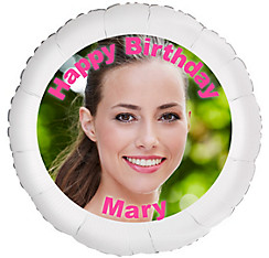 Custom Birthday Photo Balloon