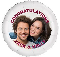 Custom Engagement Photo Balloon