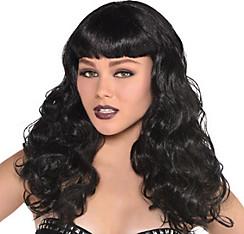 Wavy Black Wig