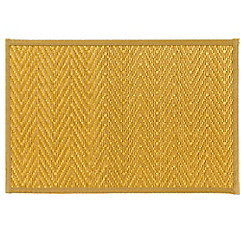 Gold Chevron Bamboo Placemat