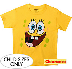 Child SpongeBob Face T-Shirt