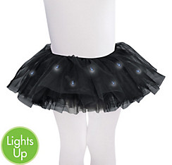 Child Light-Up Black Tutu