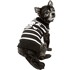 Skull & Crossbones Pirate Dog Costume