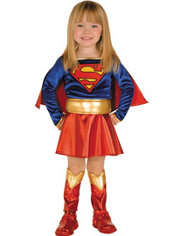 Toddler Girls Supergirl Costume