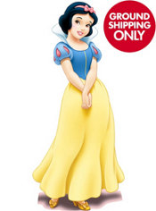 Snow White Life Size Cardboard Cutout 60in