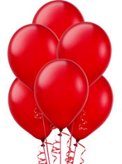 Red Balloons 15ct
