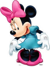 Minnie Mouse Life Size Cardboard Cutout 42in