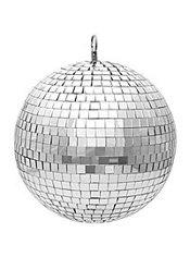 Disco Mirror Ball 8in Party City