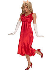 Adult Miss Piggy Costume - The Muppets
