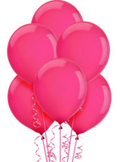 Magenta Latex Balloons 12in 15ct