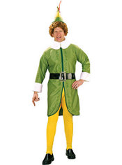 Adult Buddy the Elf Costume Extra Large