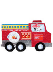 Giant Fire Truck Pinata 38in
