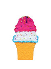 Giant Ice Cream Cone Pinata 38in