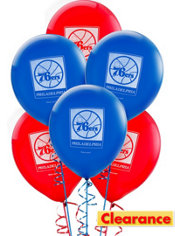 Philadelphia 76ers Balloon 6ct