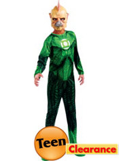 Teen Boys Tomar-Re Costume - Green Lantern
