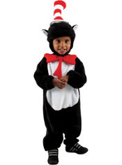 Baby Cat in the Hat Costume - Dr. Seuss