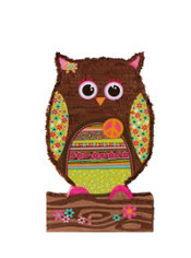 Giant Owl Pinata 36in