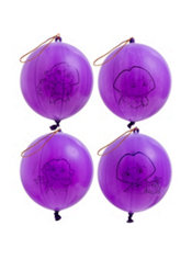 Latex Dora the Explorer Punch Balloons 4ct