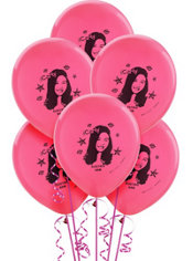 iCarly Printed Latex Balloons 12in 6ct