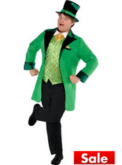 Adult Lucky Leprechaun Costume Plus Size
