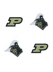 purdue boilermakers face tattoos 4ct party city. Black Bedroom Furniture Sets. Home Design Ideas