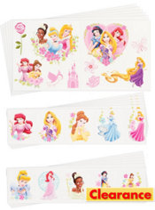 Disney Princess Tattoos Value Pack 72ct